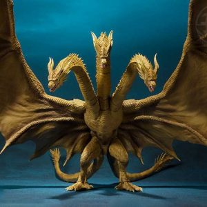 S.H.MonsterArts King Ghidorah Godzilla King of the Monsters  ( Bluefin Preventa )